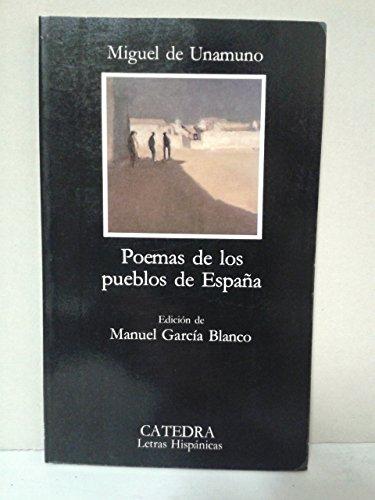 9788437600390: Poemas de los pueblos de España (Letras Hispanicas (catedra))