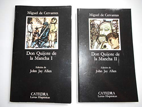 8437601169 don quijote de la mancha 2 vol set by miguel de cervantes john jay allen abebooks. Black Bedroom Furniture Sets. Home Design Ideas