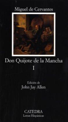 9788437601175: Don quijote de la Mancha I: Don Quijote De La Mancha 1 (Letras Hispanicas (catedra)