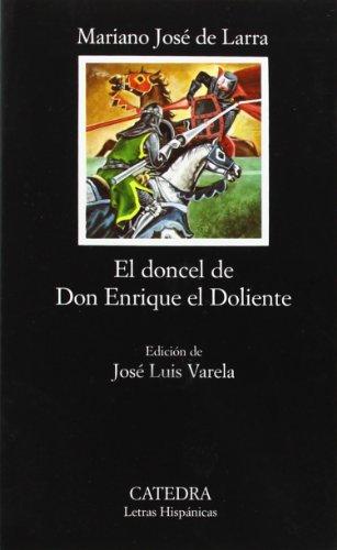 9788437601557: El doncel de don Enrique el Doliente (Letras Hispánicas)