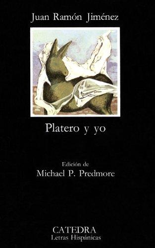9788437601618: Platero y yo (Letras Hispánicas)