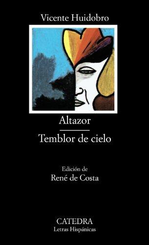 9788437602790: Altazor; Temblor de cielo (Letras Hispánicas)