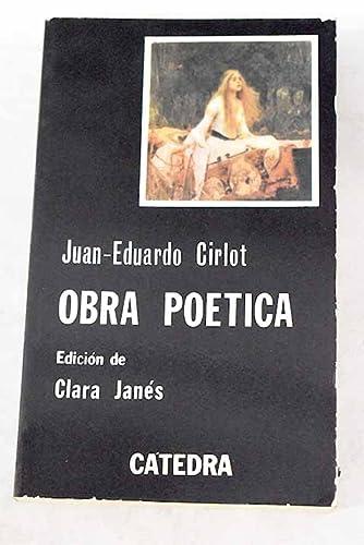 9788437602844: Obra poetica (Letras Hispanicas (catedra))