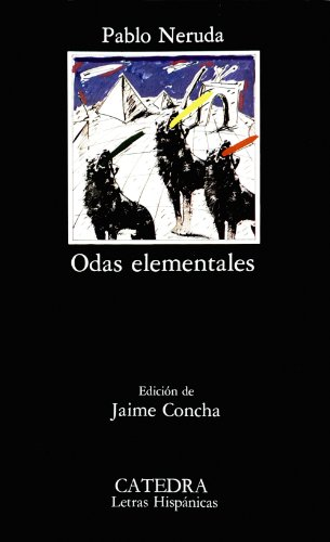 9788437603667: Odas elementales (COLECCION LETRAS HISPANICAS) (Spanish Edition)
