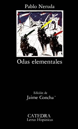 9788437603667: Odas elementales (Letras Hispánicas)