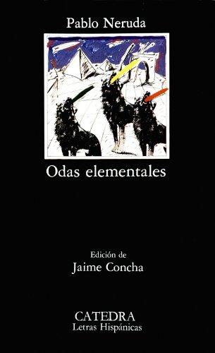 9788437603667: Odas elementales/ Elemental Odes