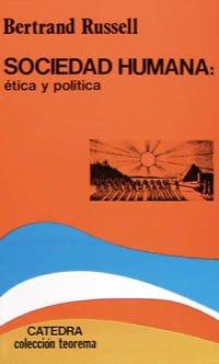 9788437604589: Sociedad humana: ética y política (Teorema. Serie Menor) (Spanish Edition)