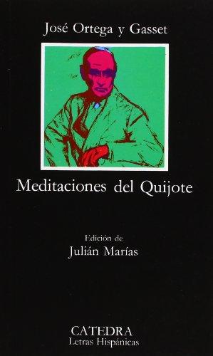 9788437604817: Meditaciones del Quijote (Letras Hispánicas)