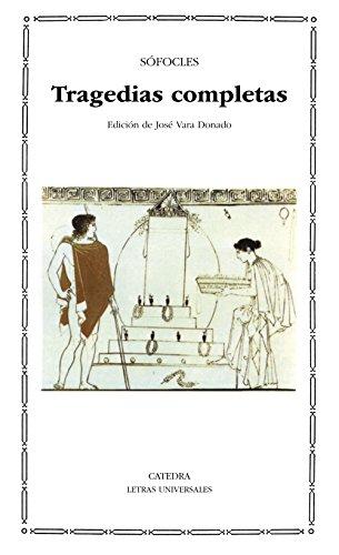 Tragedias Completas/ Complete Tragedies (Paperback): Sophocles