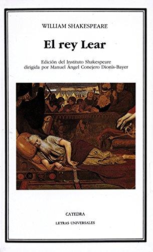 9788437605968: El rey Lear (Letras Universales)