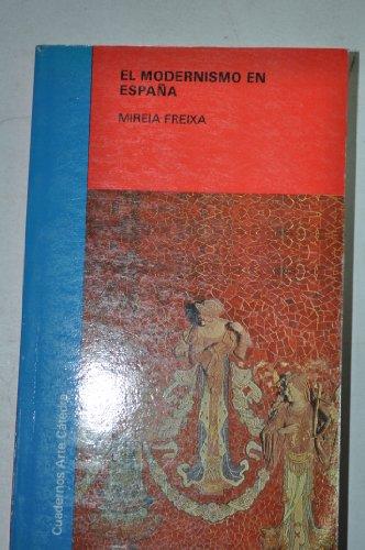 9788437606040: Modernismo en España (Cuadernos Arte)