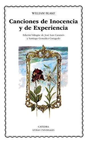 9788437606682: 1: Canciones de Inocencia y de Experiencia (Letras Universales)