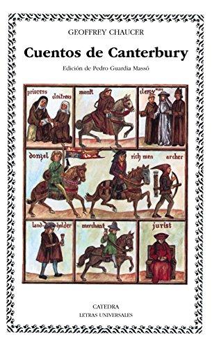 9788437606736: Cuentos de Canterbury: 83 (Letras Universales / Universal Writings)