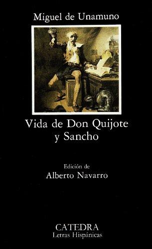 Vida de Don Quijote y Sancho .: Unamuno, Miguel de