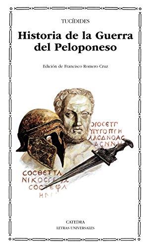 HISTORIA DE LA GUERRA DEL PELOPONESO: Tucídides