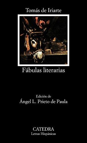 9788437608471: Fábulas literarias (Letras Hispánicas)
