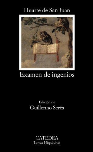 9788437608723: Examen de ingenios/ Wit Test (Letras hispánicas) (Spanish Edition)