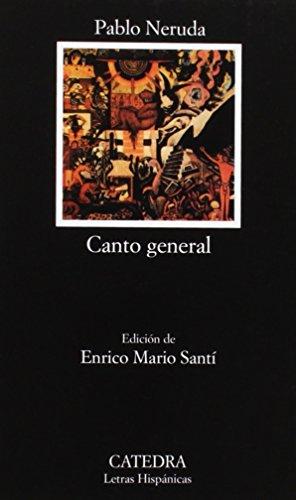 9788437609300: Canto general (Letras Hispánicas)
