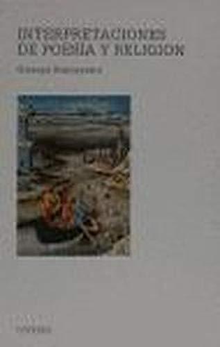 9788437609454: Interpretaciones de poesia y religion