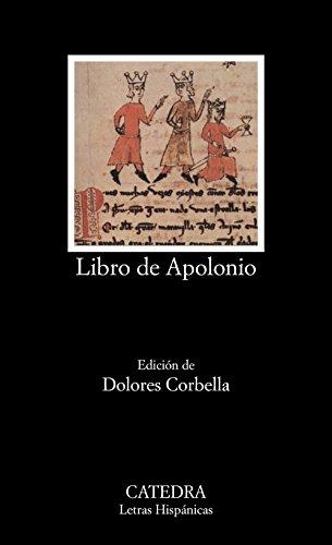 9788437610801: Libro de Apolonio (Letras Hispánicas)