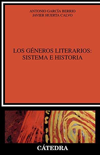9788437611075: Los Generos Literarios/ The Literary Genres: Sistema E Historia/ System and History (Critica Y Estudios Literarios / Criticism and Literary Studies) (Spanish Edition)