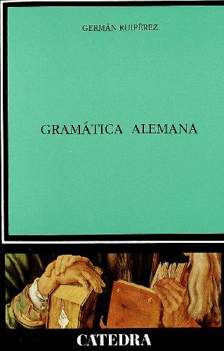 9788437611105: Gramática alemana (Lingüística)