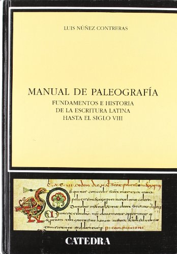 MANUAL DE PALEOGRAFIA-I