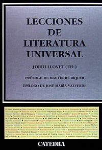 9788437613413: Lecciones de literatura universal / Lessons From Literature: Siglos XII a XX / XII to XX Centuries (Spanish Edition)