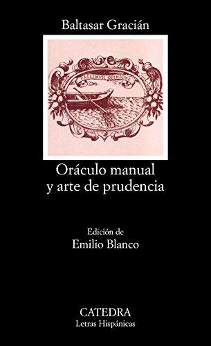9788437613499: Oráculo manual y arte de prudencia (Letras Hispánicas)