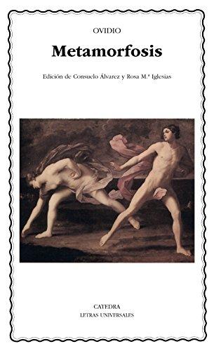 Metamorfosis.Ed. de Consuelo Alvarez: Ovidio