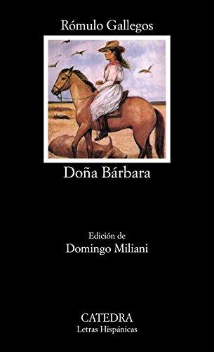 9788437615394: Dona Barbara
