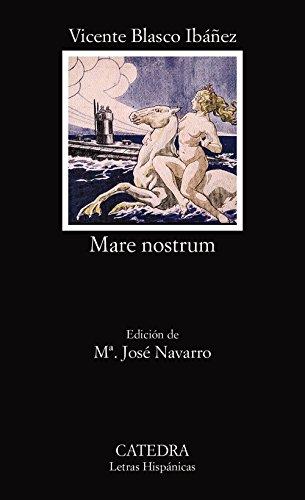 9788437616520: Mare nostrum (Letras Hispanicas) (Spanish Edition)