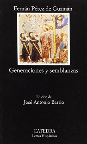 9788437616636: Generaciones y semblanzas (Letras Hispánicas)