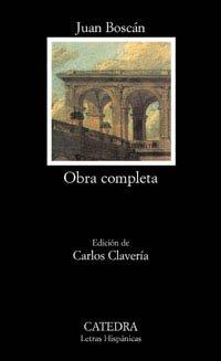 Obra completa. Edición de Carlos Clavería.: Boscán, Juan.