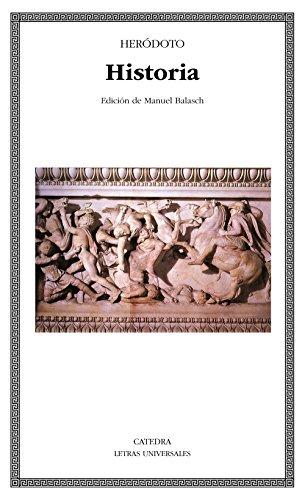 9788437617114: Historia (Letras Universales)