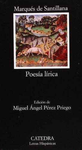 9788437617688: Poesía lírica (Letras Hispánicas)