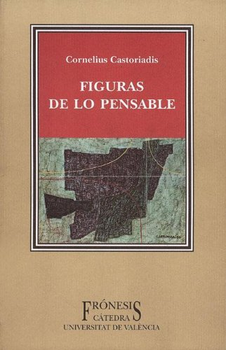 9788437617770: Figuras de lo pensable / Figures of the Thinkable (Fronesis) (Spanish Edition)