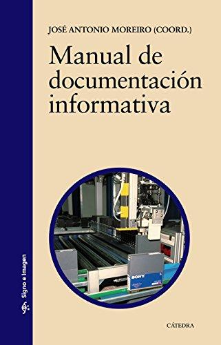 9788437617985: Manual de documentación informativa (Signo E Imagen)