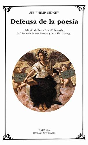 9788437621050: Defensa De La Poesia/The Defense of Poetry (Letras Universales / Universal Writings) (Spanish Edition)