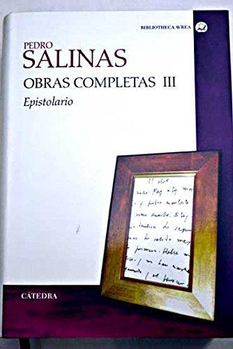 9788437624235: Obras completas Pedro Salinas
