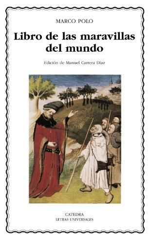 9788437624686: Libro de las maravillas del mundo (Letras Universales / Universal Writings) (Spanish Edition)
