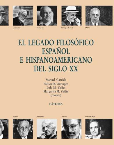El legado filosofico espanol e hispanoamericano del: Varios