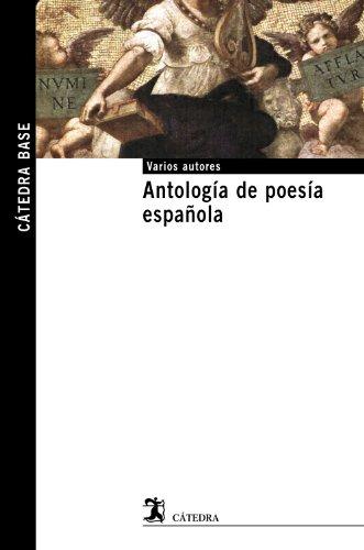 ANTOLOGÍA DE POESÍA ESPAÑOLA: VARIOS