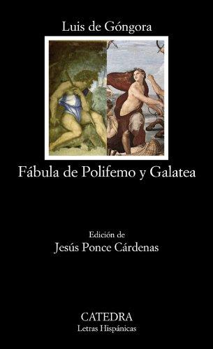 9788437626680: Fábula de Polifemo y Galatea (Letras Hispánicas)