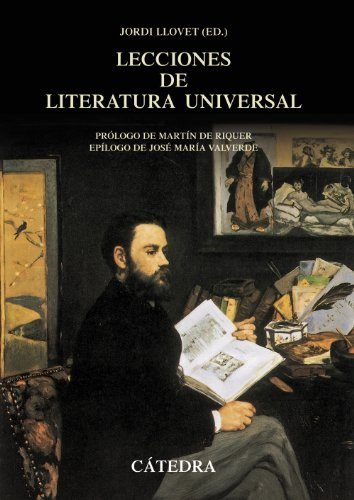 9788437629926: Lecciones de literatura universal siglos XII a XX / Lessons of universal literature XII to XX centuries (Spanish Edition)