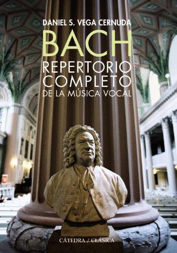 9788437630175: Bach. Repertorio completo de la música vocal