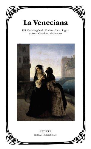 9788437630861: La Veneciana (Letras Universales)