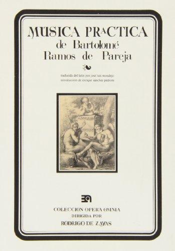 9788438100080: Música práctica de B. Ramos de Pareja Vihuela