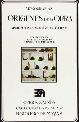 ORIGENES DE LA OPERA: Rodrigo De Zayas
