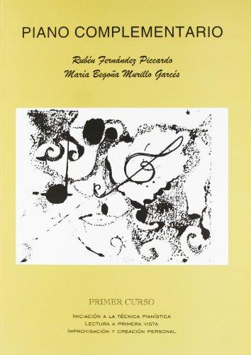 9788438103098: Piano complementario, primer curso: Iniciación, lectura e improvisación